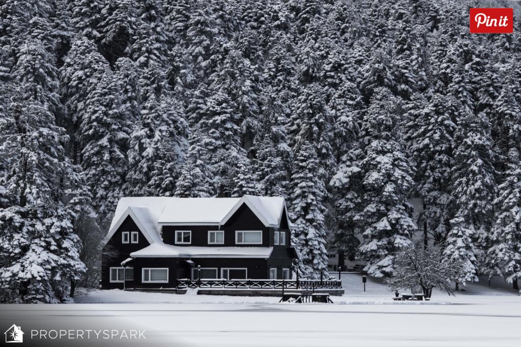 Beautiful Real Estate Winter