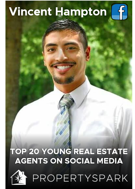 Vincent Hampton Young Real Estate Agent PropertySpark
