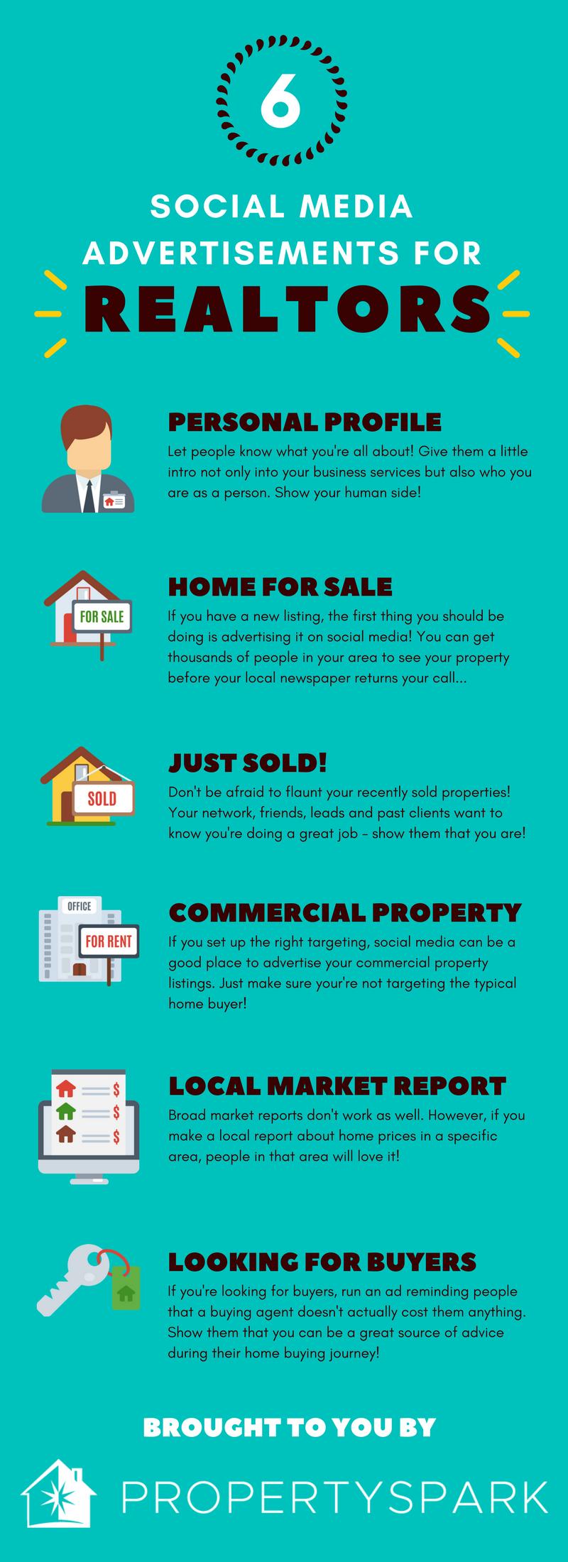 6 Social Media Advertisements for Realtors - PropertySpark