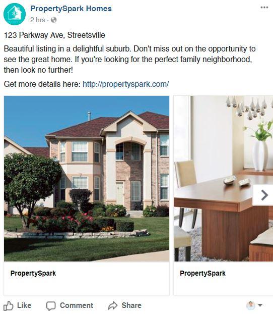 Carousel Real Estate Facebook Post 2