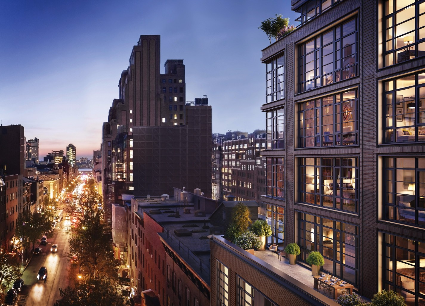 The Finest in Luxury Real Estate: 211 West 14th Street